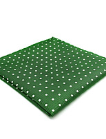 cheap -Men's Vintage / Party / Work Pocket Squares - Polka Dot / Color Block / Jacquard