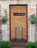 abordables -Autocollants muraux décoratifs / Autocollants de sol - Autocollants muraux 3D Animaux / 3D Bureau / Bureau de maison / Extérieur