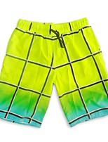 cheap -SBART Men's Swim Shorts UV Sun Protection, Anti-Eradiation, Wearable Elastane / Terylene Sleeveless Swimwear Beach Wear Board Shorts Surfing / Beach Volleyball / Outdoor Exercise