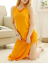 cheap -Women's Suits Nightwear - Cut Out, Solid Colored