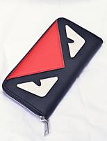 cheap -Women's Bags PU(Polyurethane) Wallet Zipper Blue / Red / Beige