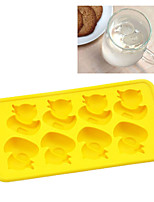cheap -Bakeware tools Silicone Cute / Creative / DIY For Ice / Ice Cream / For Candy Tray / Cake Molds 1pc