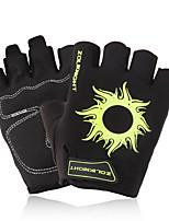 cheap -ZOLI Half-finger Unisex Motorcycle Gloves Cotton Breathable / Wearproof