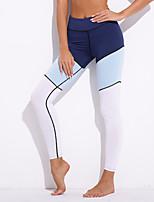 cheap -Women's Sporty / Basic Legging - Color Block High Waist