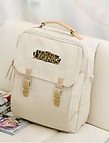 cheap -Unisex Bags Canvas School Bag Pattern / Print Blue / White / Black