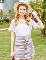 cheap -Women's Shirt - Geometric Skirt