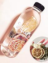 baratos -Copos Plásticos Garrafas de Água / Esporte Bottle presente namorada / Fofo 1 pcs