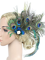 cheap -Women's Vintage / Elegant Hair Clip / Fascinator Flower