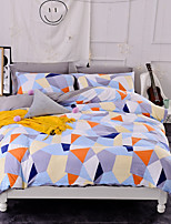 cheap -Duvet Cover Sets Geometric Polyster Printed 4 Piece