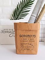 cheap -Women's Bags Paper Shoulder Bag Zipper White / Black / Brown