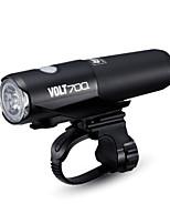 abordables -Lampes Frontales LED Cyclisme Portable Lithium-ion 700 lm Lumens Chargeur de batterie / Alimenté par Batterie Blanc Naturel Camping /