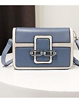 cheap -Women's Bags PU(Polyurethane) Shoulder Bag Zipper Black / Blushing Pink / Brown