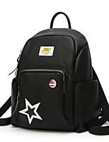 cheap -Women's Bags PU(Polyurethane) Backpack Appliques Black