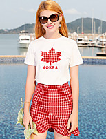 cheap -Women's Polo - Geometric Skirt