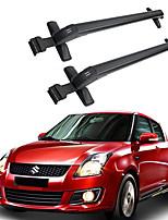 economico -2pcs 0.48 m Portapacchi Lega di alluminio For Suzuki Swift Tutti gli anni