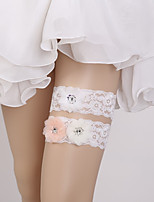 cheap -Lace Fashion / Bridal Wedding Garter 617 Floral Garters Wedding / Special Occasion