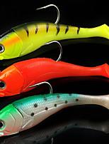 cheap -1 pcs pcs Fishing Lures Soft Bait Lead / PVC(PolyVinyl Chloride) Sea Fishing / Fly Fishing / Bait Casting