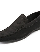 cheap -Men's Shoes PU(Polyurethane) Fall Moccasin Loafers & Slip-Ons Black / Yellow