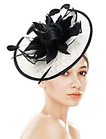 cheap -Women's Vintage / Elegant Headband / Hair Clip / Fascinator Flower