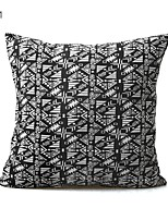 cheap -1 pcs Textile / Cotton / Linen Pillow Cover / Pillow Protector / Pillow Case, Damask / Plain Modern / Contemporary