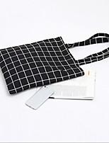 cheap -Women's Bags Canvas Shoulder Bag Pattern / Print White / Black / Light Grey