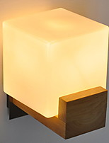 cheap -Anti-Glare Modern / Contemporary Wall Lamps & Sconces Living Room / Bedroom Wood / Bamboo Wall Light 220-240V 40 W
