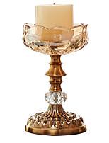 Недорогие -Европейский стиль Специальный материал Подсвечники На одну свечу 1шт, Свеча / подсвечник