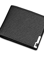 cheap -Men's Bags PU(Polyurethane) Wallet Split Front Black / Dark Blue / Brown
