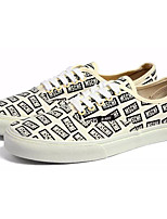 cheap -Men's Shoes Canvas / Fabric Fall Comfort Sneakers Beige