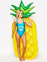 cheap -Pineapple Inflatable Pool Floats PVC Durable Swimming / Water Sports for Adults 180*90*20 cm