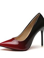 abordables -Femme Chaussures Polyuréthane Printemps été A Bride Arrière Chaussures à Talons Talon Aiguille Gris / Rouge / Soirée & Evénement