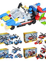 cheap -Building Blocks 204 pcs Vehicles School / Stress and Anxiety Relief / Decompression Toys Fire Engine Vehicle Gift