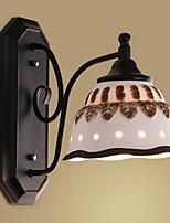abordables -Appliques Salle de séjour / Chambre à coucher Métal Applique murale 220-240V 40 W