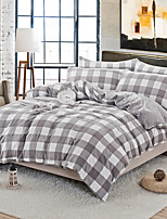 cheap -Duvet Cover Sets Stripes / Ripples Polyster Printed 4 Piece