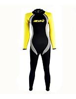 cheap -Women's 3mm Diving Suit Long Sleeve Classic Summer