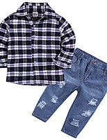 cheap -Toddler Boys' Striped Long Sleeve Clothing Set
