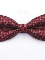 cheap -Men's Basic Cotton / Polyester Bow Tie - Polka Dot / Geometric Bow / Criss-Cross / All Seasons