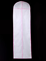 cheap -One-tier Modern Wedding Veil Garment Bags 53 Solid 70.87 in (180cm) Polyester / Cotton Blend