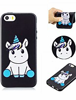 abordables -Coque Pour Apple iPhone 6 / iPhone 6s Motif Coque Licorne Flexible TPU pour iPhone 6s / iPhone 6