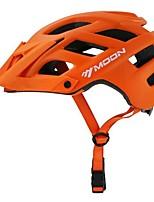 abordables -MOON Adulte Casque de vélo 22 Aération Des sports Activités Extérieures - Orange / Vert / Bleu Homme
