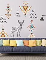 cheap -Decorative Wall Stickers - Plane Wall Stickers Shapes Living Room / Bedroom