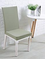 baratos -Cobertura de Cadeira Sólido Fios Tingidos Poliéster Capas de Sofa