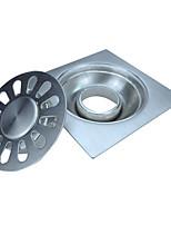 Недорогие -Слив Новый дизайн / Многофункциональный Modern Нержавеющая сталь 1шт Двуспальный комплект (Ш 200 x Д 200 см) Установка на полу
