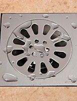 Недорогие -Слив Новый дизайн Modern Нержавеющая сталь 1шт Установка на полу