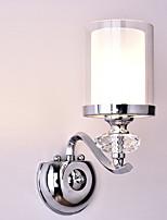 Недорогие -Очаровательный / Cool Модерн Настенные светильники Спальня / Офис Металл настенный светильник 220-240Вольт