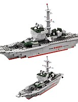 cheap -Building Blocks 228 pcs Battleship Creative All Gift