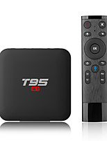 abordables -PULIERDE T95 S1 Box TV Android 7.1 Box TV S905W 2GB RAM 16GB ROM Quad Core
