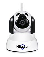 abordables -Hiseeu FH4 1 mp IP Camera Intérieur Support64 GB