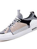 cheap -Men's Mesh Summer / Winter Comfort Sneakers Color Block Gray / Red / Blue