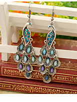 cheap -Women's Drop Earrings - Bohemian, Ethnic Rainbow For Evening Party / Street